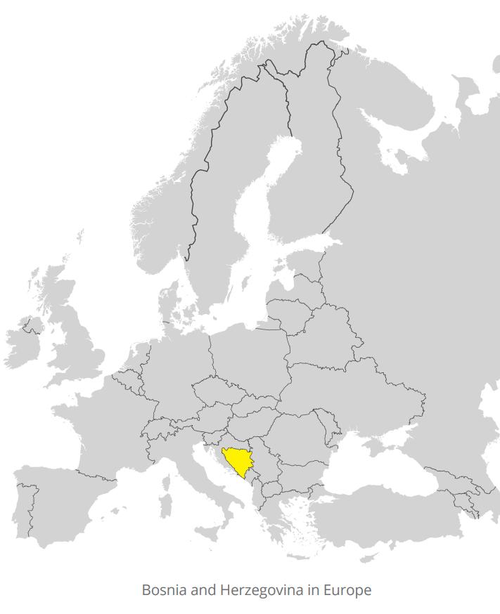BiH in Europe